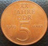 Moneda aniversara 5 MARCI / MARK - RD GERMANA (DDR), anul 1969 *cod 2809, Europa