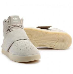 Pantofi sport, Adidas Originals Tubular Invader Strap, gri - 46 EU