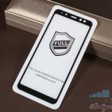 Cumpara ieftin Folie Sticla Samsung Galaxy A8 2018 Acoperire Completa Neagra