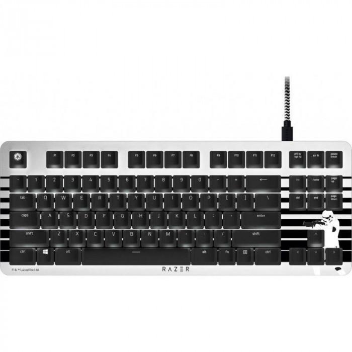 Tastatura gaming Razer BlackWidow Lite Stormtrooper Edition Mecanica