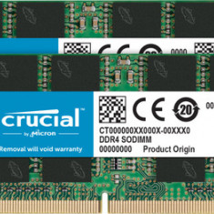 Memorie laptop Crucial CT2K4G4SFS632A, DDR4, 2x4GB, 3200MHz, CL22, 1.2V