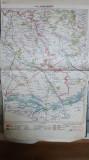 Harta Turnu-Măgurele, Alexandria, Nicopol, Șiștov, Zimnicea, 1929