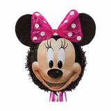 Pinata Disney Minnie Mouse cu sfori, Amscan 9903156, 1 bucata