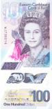 Bancnota Caraibe ( Eastern Caribbean ) 100 Dolari (2019) - PNew UNC ( polimer )
