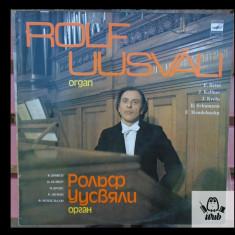 Rolf Uusvyali - organist al Catedralei din Riga - Lucrari pentru orga