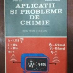 Aplicatii si probleme de chimie pentru treapta a II-a de liceu - Ion Ionescu, Stefan Ilie