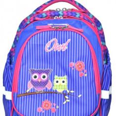 Ghiozdan scoala Herlitz Light motiv Owls