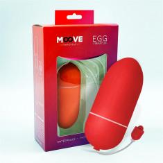 Ou Vibrator MOOVEEggRosu