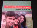 LIMBA SI LITERATURA ROMANA-MIHAELA GEORGESCU-NIC.IONESCU-EVALUARE NATIONALA-