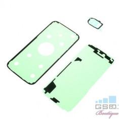 Adeziv Sticker Display, Capac Baterie Spate Si Ornament Camera Samsung Galaxy S7 G930 3in1
