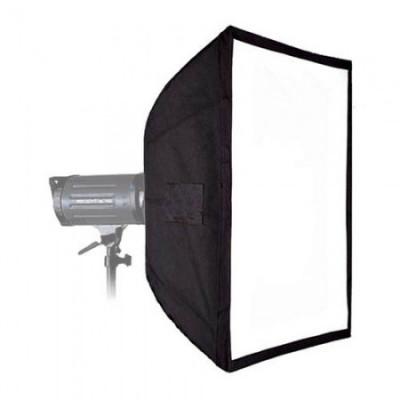 Softbox 60x60cm cu montura Elinchrom foto