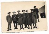 D892 Ofiteri romani 1943 poligon tragere  Brasov perioada regalista