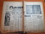 Flacara iasului 29 octombrie 1965-santierul hidrocentralei vidraru