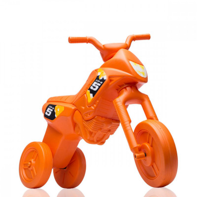 Tricicleta fara pedale Enduro - portocaliu-portocaliu foto