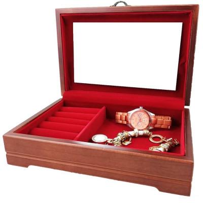 Caseta bijuterii din lemn Andre foto