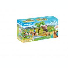 Playmobil Spirit - Calareti la rau