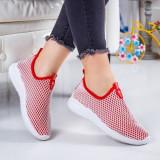 Pantofi Sport Rejani rosii -rl