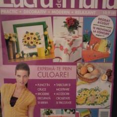 ,Revista LUCRU DE MANA nr. 22 (primavara 2011)