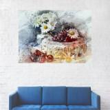 Tablou Canvas, Flori Si Cirese - 80 x 120 cm