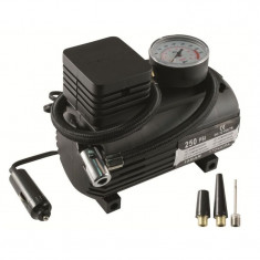 Compresor auto, presiune 12 Bar, tensiune 12V, 3 adaptoare ventil