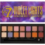 Cumpara ieftin Paleta farduri de pleoape W7 Violet Lights , 14 culori