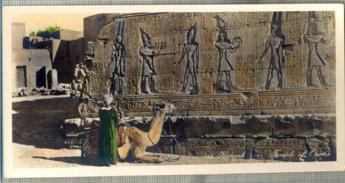 AD 581 C. P. VECHE -KARNAK -TEMPLE OF OPAT. -EGYPT