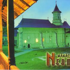 Carte postala CP NT044  - Manastirea Neamt - necirculata, Printata
