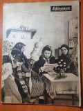 revista sateanca ianuarie 1955-art,raionul bailesti craiova si cristian brasov