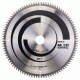Panza de ferastrau circular Multi Material 254x30x3,2mm 96