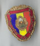 Insigna MILITAR DE FRUNTE - militara - RSR 1970