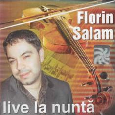 CD Florin Salam – Live La Nuntă, original, manele
