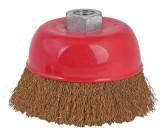 Perie circulara tip cupa din sarma pentru flex 125 mm