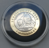 2 pounds 2021 Gibraltar, Rumble on the Rock, WBC, Brilliant uncirculated, Europa