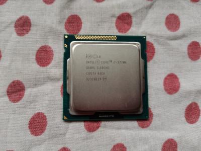 Procesor Intel Core I7 IvyBridge 3770K 3,5GHz,socket 1155. foto