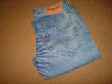 Blugi/Jeans barbati/barbatesti/LEVI STRAUSS & CO W 30 L 32/noi/nepurtati