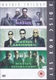DVD SF: Matrix , Matrix Reloaded si Matrix Revolutions ( set 3 DVDuri originale)