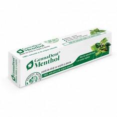 Pasta Dinti GennaDent Menthol, 80ml, Viva Natura