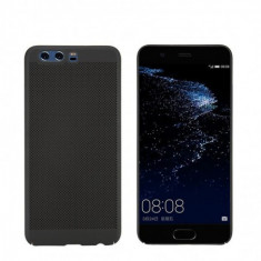 Husa Bubble Vent pentru Huawei P9 Lite 2017/P8 Lite 2017, Black