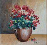 Pictua in ulei, Flori, Impresionism