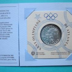 Moneda argint 1000 Lire 1996, Italia - FDC