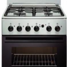 Aragaz Electrolux EKG51154OX, 4 arzatoare pe gaz, Aprindere integrata, Timer, Rotisor, Iluminare cuptor (Inox)