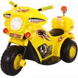 Motocicleta Electrica 991, 6V Galben