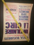 Cumpara ieftin RAR = AFIS INTALNIRE LA CIRC -1974 - IOSEFINI