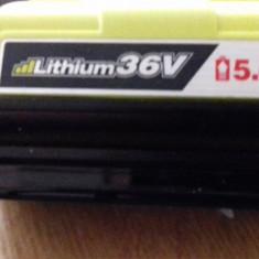 Lithium-Ion Baterie Acumulator Akku 36V 5Ah Li-Ion BPL3650 Ryobi