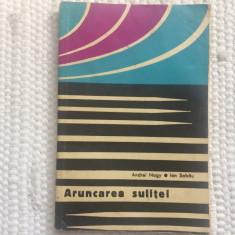 aruncarea sulitei nagy sabau editura CNEFS 1968 RSR carte sport atletism sulita