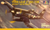 Machetă avion CORSAIR F-4U/5N. Night intruder (1:72) Neasamblat, kit complet!