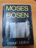 AS - ROSEN MOSES - ESEURI BIBLICE
