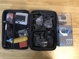 GoPro Hero 4 Silver + geanta cu accesorii, 4K, Card de memorie, CMOS