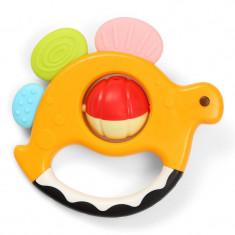 Jucarie zornaitoare pentru bebelusi BabyOno Dino 482, Multicolor