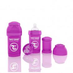 Biberon Anti colici 180 ml Twistshake Violet